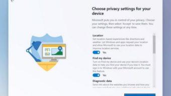 Configuração do Windows 10X (Imagem: Reprodução/Neowin)