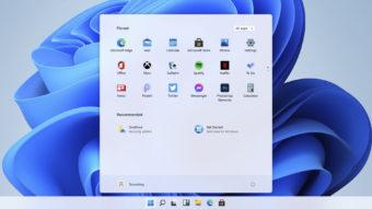 Novo menu Iniciar do Windows 11 (Imagem: Reprodução)