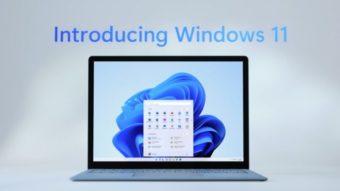 Windows 11 é anunciado oficialmente; eis o que há de novo