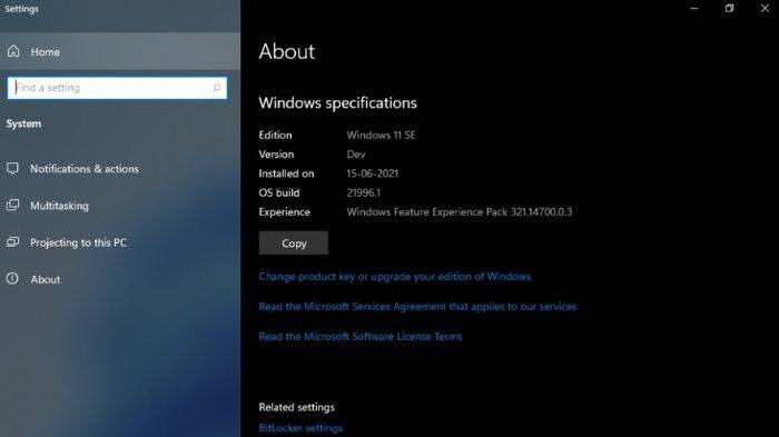 Windows 11 SE (Imagem: Reprodução/XDA Developers)
