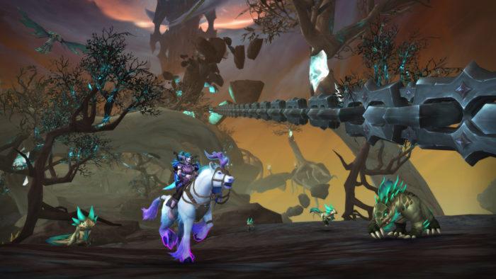 Correntes da Dominação é o patch 9.1 de World of Warcraft Shadowlands (Imagem: Divulgação/Blizzard)