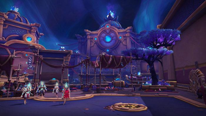 Megamasmorra Tazavesh, o Mercado Oculto do patch 9.1 de WoW Shadowlands (Imagem: Divulgação/Blizzard)