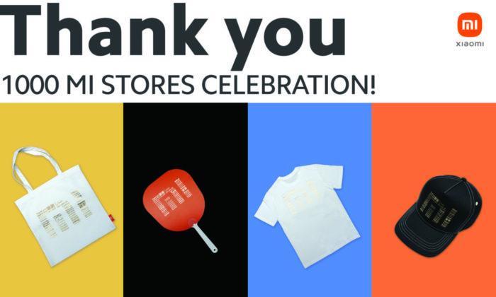 Xiaomi vai distribuir brindes para comemorar abertura da 1.000ª Mi Store (Imagem: Divulgação/Xiaomi)