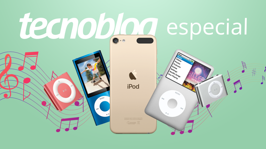 20 anos de iPod: como ele mudou a Apple e a música (Imagem: Vitor Pádua/Tecnoblog)