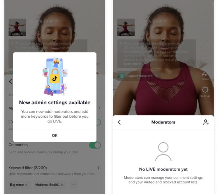 TikTok implementa moderadores para lives na plataforma (Imagem: Divulgação)