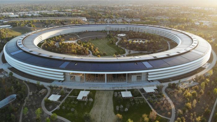 "Campus ""Infinite Loop"" da Apple, em Cupertino, na Califórnia (Imagem: Carles Rabada/Unsplash)"
