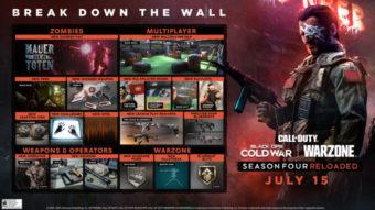Temporada 4 de CoD: Warzone e Black Ops Cold War traz novos mapas e modos