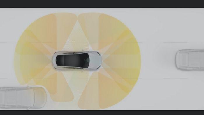 Como funciona a direção autônoma (Imagem: Tesla/Divulgação)