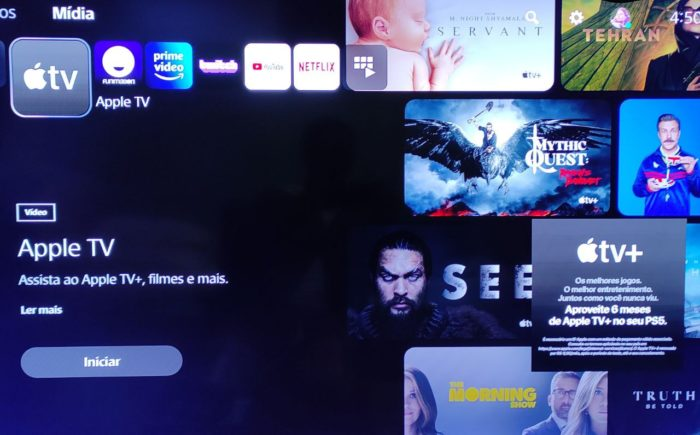 Como resgatar a promoção do Apple TV+ no PlayStation 5