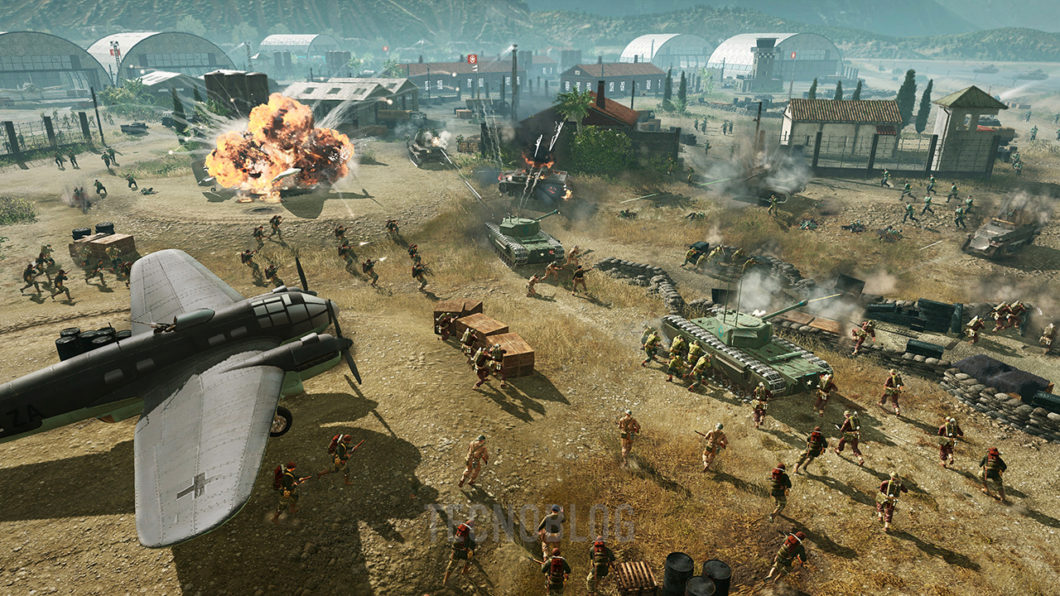 Company of Heroes 3 gameplay pré-alpha