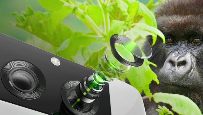 Gorilla Glass para câmeras da Corning chegará primeiro a aparelhos da Samsung (Imagem: Divulgação)
