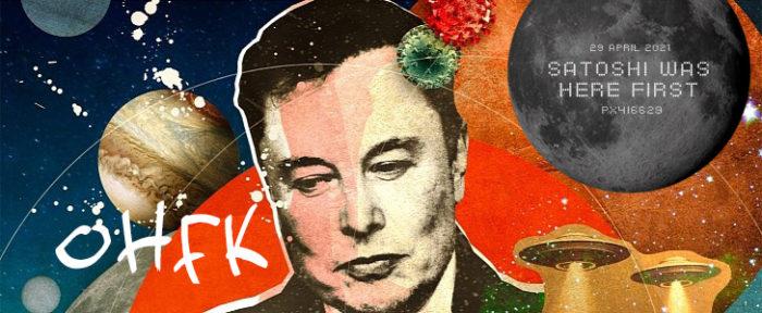 Grupo afirma ter superado Elon Musk ao enviar com sucesso bitcoin para a Lua (Imagem: Reprodução/Satoshi.Radio.Br)