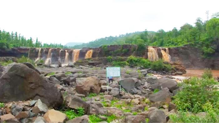 Quedas d'água de Saputara, em Dang, na Índia (Imagem: Dhimant Patel/ Flickr)