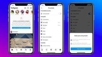 Instagram segue TikTok e limita perfis de jovens para proteger usuários