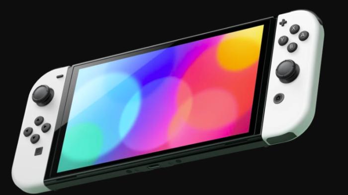 Switch OLED tem o mesmo processador do orignal (Imagem: Divulgação/Nintendo)