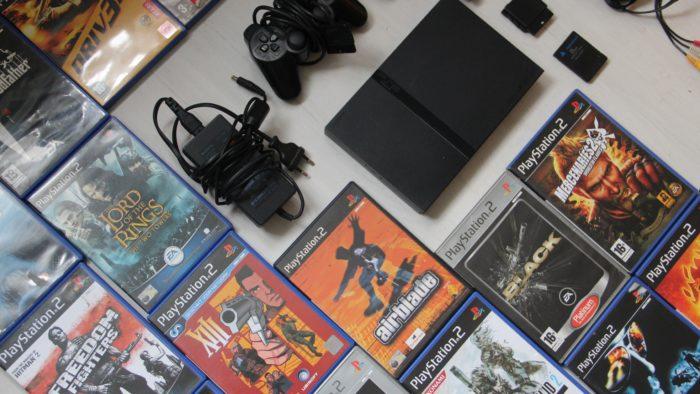 Jogue seu PlayStation 2 em TV nova