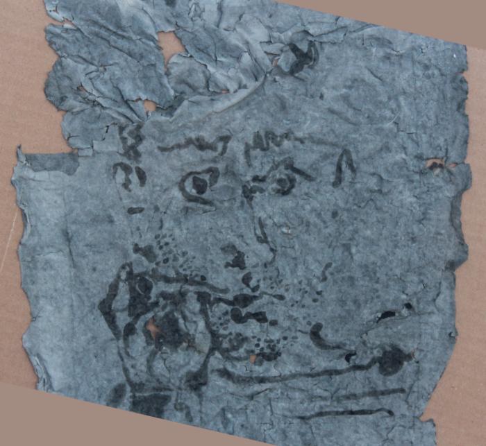 """NFT """"The Burned Picasso"""", edição 2 (Imagem: Reprodução/ Unique One Art Marketplace)"""