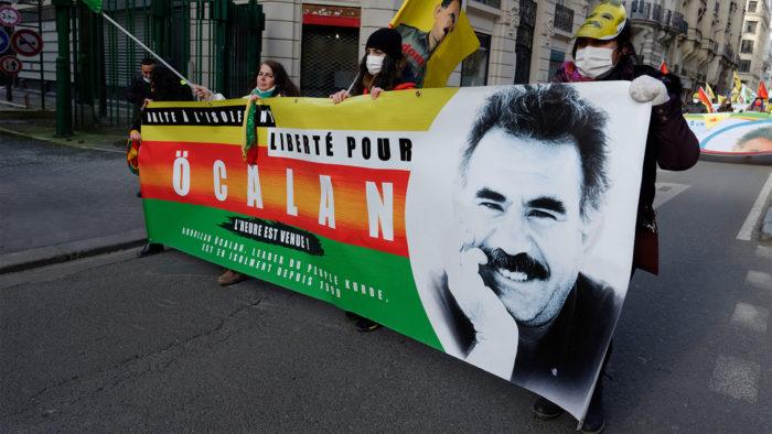 Manifestação em favor da soltura de Abdullah Öcalan (Imagem: PASCAL.VAN/ Flickr)