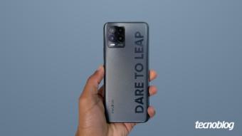 Realme 8 Pro: ousado no design e congelado no hardware