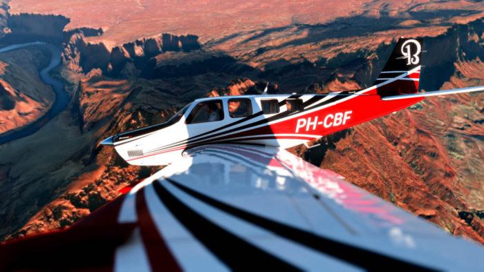 Microsoft Flight Simulator vai ganhar novas aeronaves (Imagem: DivulgaçãoqMicrosoft)