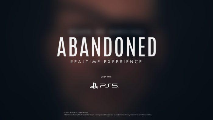Abandoned pode ser um novo Metal Gear para PS5? (Imagem: Divulgação/Blue Box)