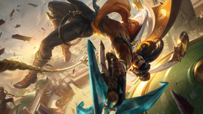 Akshan, o Sentinela Rebelde, é o novo campeão de League of Legends (LoL) (Imagem: Divulgação/Riot Games)
