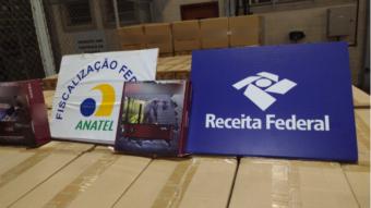 Anatel já apreendeu R$ 157,8 milhões em TV Box e mais produtos irregulares