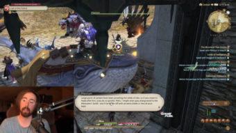 Final Fantasy 14 bane jogadores por criarem tumulto na live de Asmongold