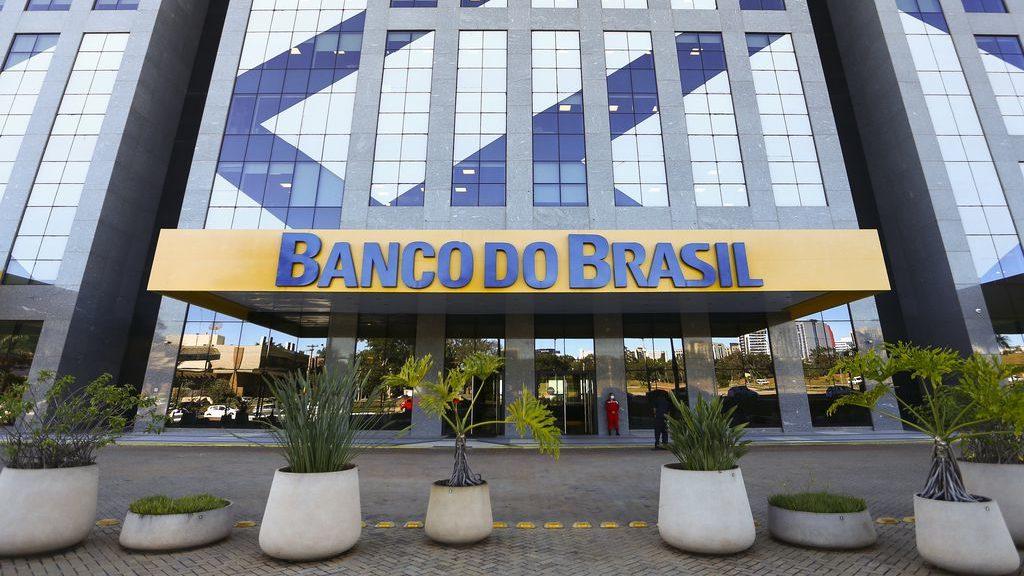 Edifício sede do Banco do Brasil, em Brasília.