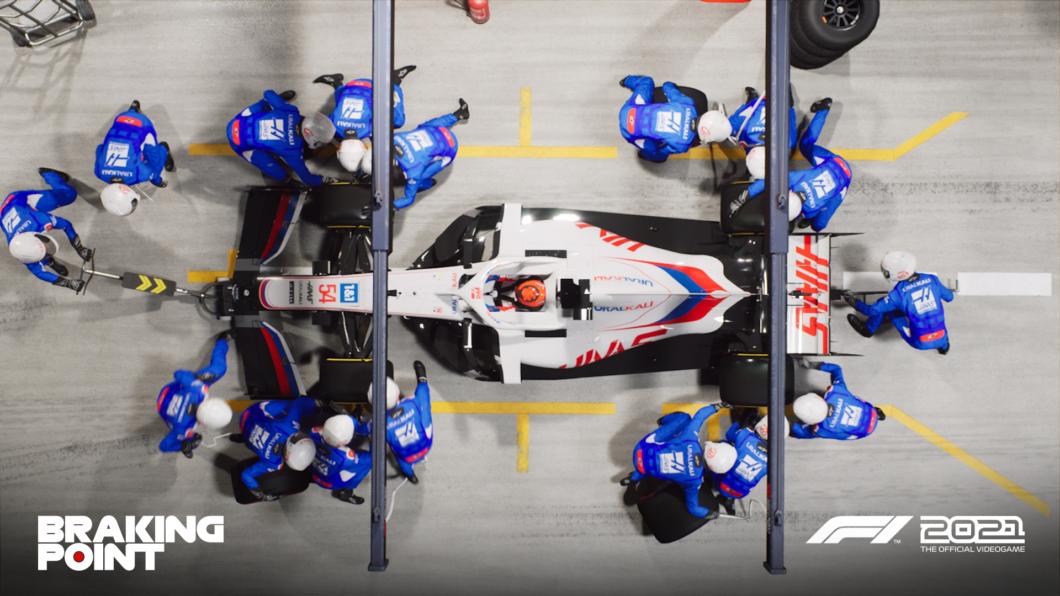 Haas F1 Team (Image: Disclosure/EA)