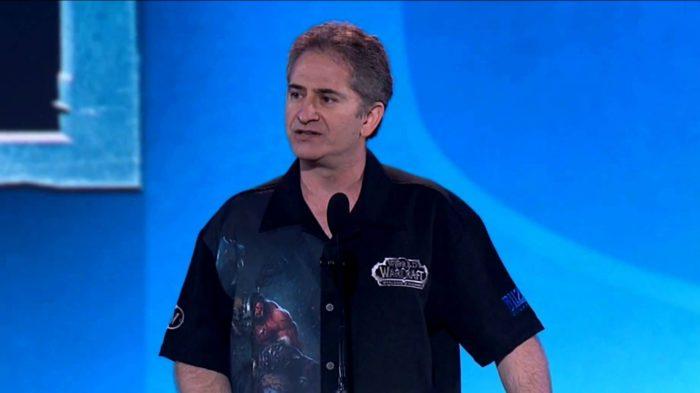 Mike Morhaime, ex-chefe da Blizzard, saiu em defesa das vítimas (Imagem: Reprodução)