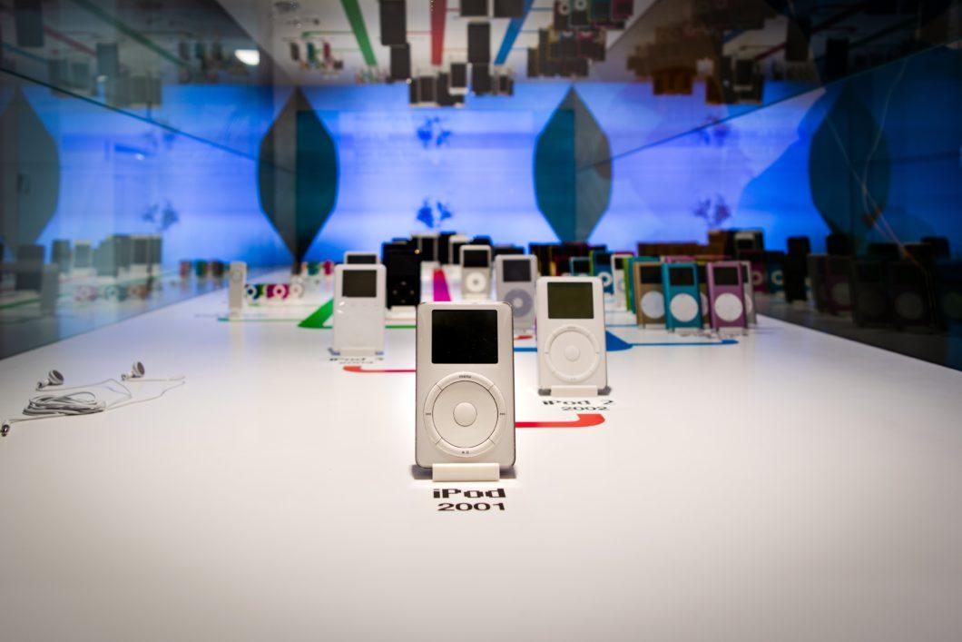 iPod evolution from the first model (Image: Christine Sandu/Unsplash)