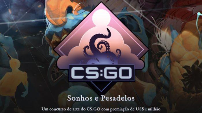 """Concurso """"Sonhos e Pesadelos"""" de CS:GO (Imagem: Divulgação/Valve)"""