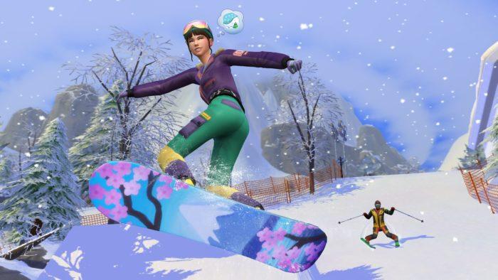 Diversão na Neve de The Sims 4