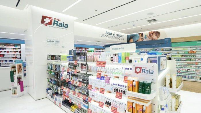 Droga Raia no Shopping Iguatemi de São Paulo (Imagem: Reprodução / Facebook)
