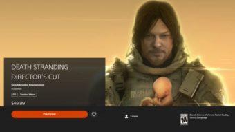 Death Stranding Director's Cut: estúdio detalha atualização do PS4 para do PS5