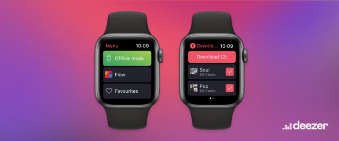 Como baixar playlists do Deezer no Apple Watch para ouvir offline (Imagem: Divulgação/Deezer)