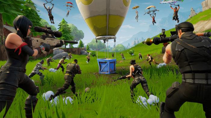 Fortnite é um jogo grátis disponível no Xbox One e Series (Imagem: Divulgação/Epic Games)