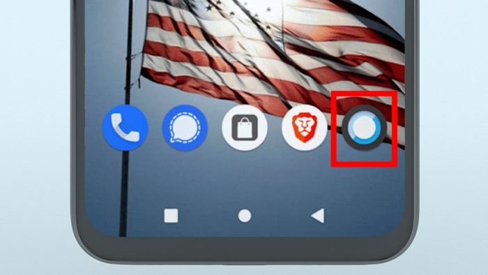Freedom Phone camera even has LineageOS icon (Image: Press Release)