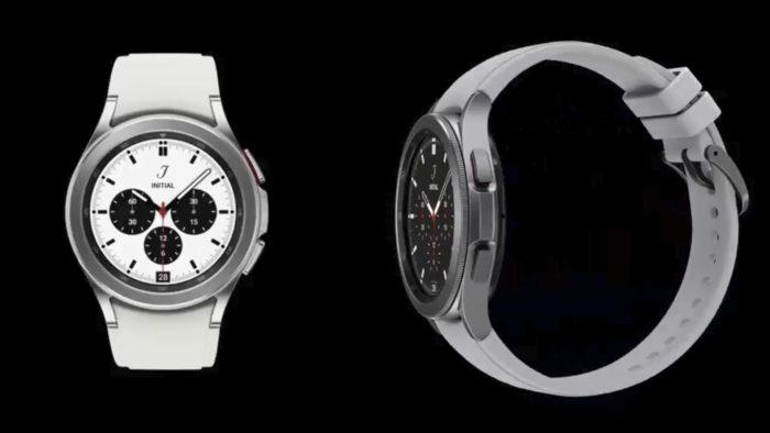 Suposto Galaxy Watch 4 Classic (Imagem: Reprodução/Evan Blass/Twitter)