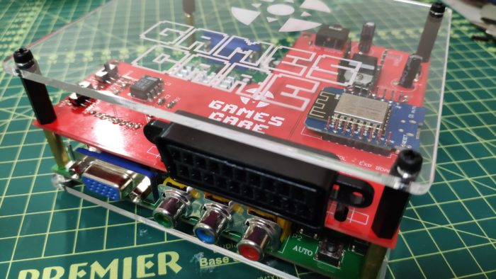 GBS Control funciona em videogame antigo em TV nova