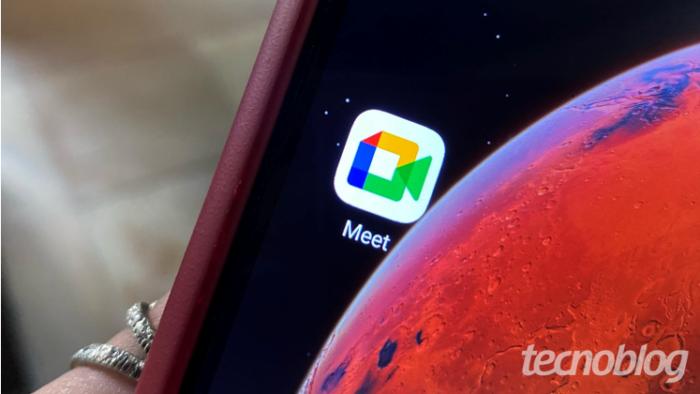 App do Google Meet (Imagem: Gabrielle Lancellotti/Tecnoblog)