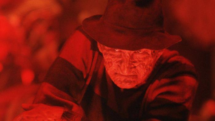 Freddy Krueger marcou os filmes de terror dos anos 80