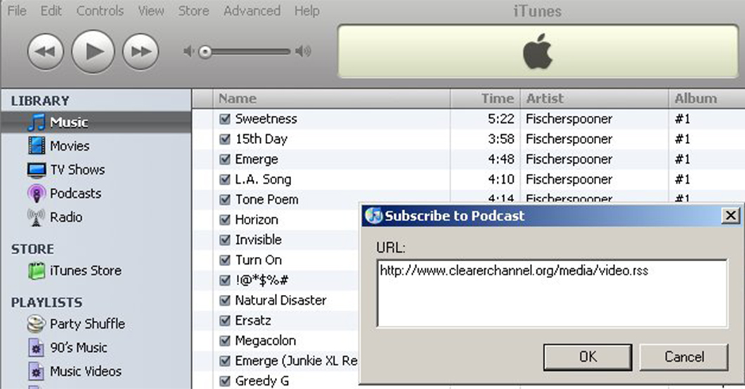 Old iTunes Store interface (Image: Mickfuzz/Wikimedia Commons)
