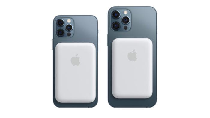 Bateria MagSafe no iPhone 12 Pro e 12 Pro Max (Imagem: Divulgação/Apple)