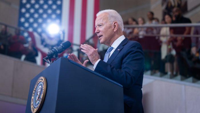 Joe Biden, presidente dos EUA (Imagem: Reprodução/Facebook/The White House)