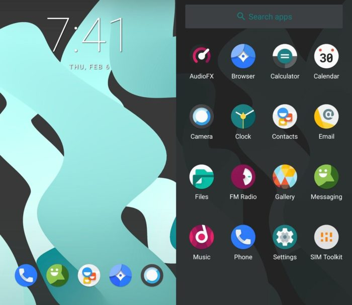 LineageOS 17.1 based on Android 10 (Image: Playback / XDA Developers)