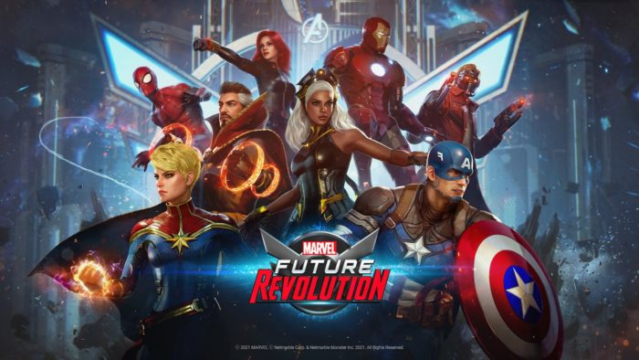 Marvel Future Revolution chega já em agosto (Imagem: Divulgação/Netmarble)