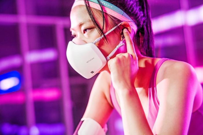 LG PuriCare Wearable Air Purifier ganha nova edição (Imagem: Divulgação/LG)