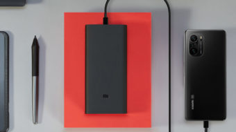 Xiaomi lança bateria portátil Mi HyperSonic Power Bank com recarga de 50 W